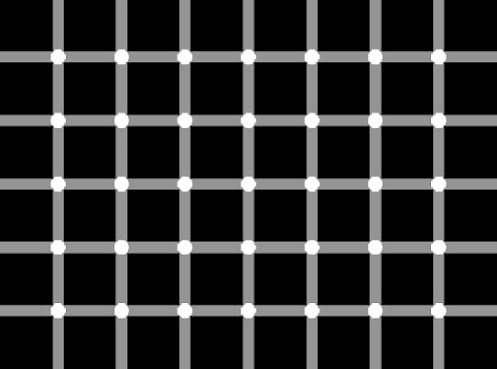 Can you count how many black dots are in the picture